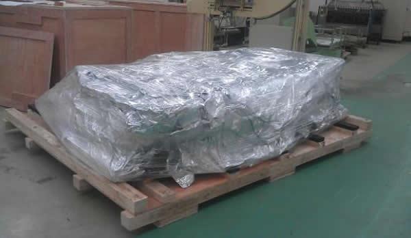 防潮包装应用案例:铝箔复合膜卷烟设备包装