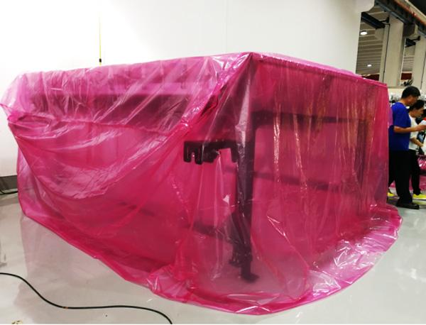 防静电包装案例:防静电薄膜包装半导体设备
