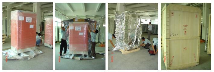 按次作业包装服务案例:机柜包装作业