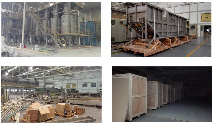 工程项目包装服务案例:塑料薄膜生产线整体搬迁