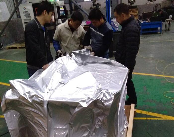 成都木箱生产车间